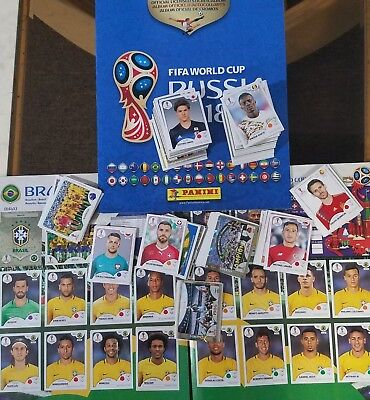Panini FIFA World Cup Russia 2018 Stickers Pick 30 - HUNDREDS AVAILABLE TO PICK