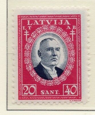 Latvia 1930 Early Issue Fine Mint Hinged 20s. 232883