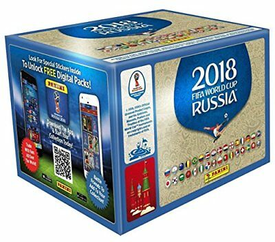 Panini WM 2018 Russia World Cup Sticker  1 x Display / 50 Tüten Int. Edition