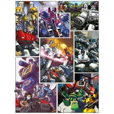 "Pyramid International ""new Comic Panels Transformers G1"" Canvas Print,"