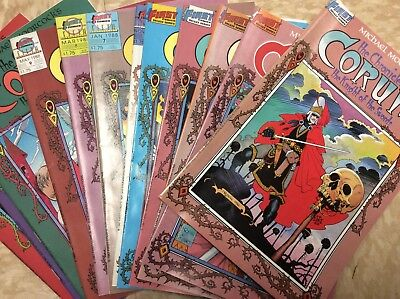 Chronicles of Corum 1 2 3 4 5 6 7 8 9 10 11 12 Complete Set Lot 1-12 First FN/VF