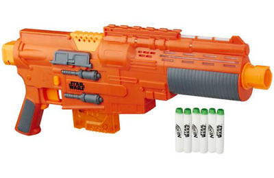 Star Wars Rogue One Nerf Sergeant Jyn Erso Deluxe Blaster RRP 44.99 lot GD 57249