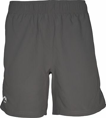 More Mile Action 7 Inch Mens Running Shorts - Grey