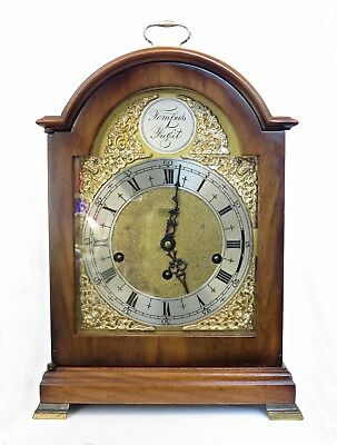Large St. James Triple/ Westminster Chimes Striking Bracket Clock, Serviced, 15""