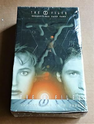 X-FILES CCG NEW FACTORY SEALED BOX OF 36 x 15 CARD BOOSTER PACKS  1996