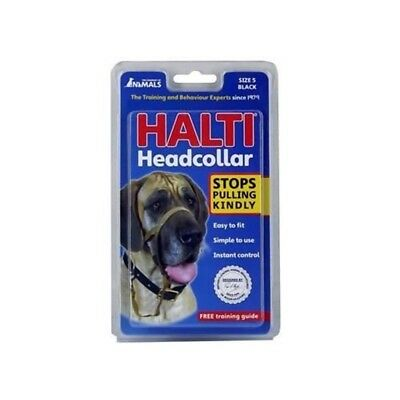 Co. Of Animals - Halti Head Collar - Black Size 5 - Head Dog Stops Pulling
