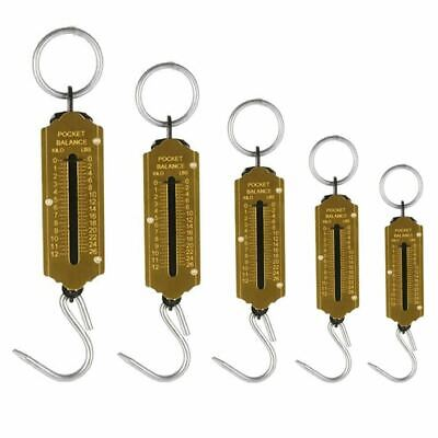Heavy Duty Hanging Hook Handheld Metal Mechanical Weighing Scale Luggage 150kg