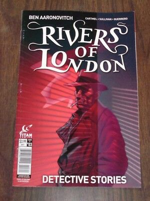 Rivers Of London Detective Stories #3 Titan Comics Cover A September 2017
