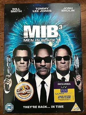 WILL SMITH MEN IN BLACK III / 3 ~ 2012 Sci-Fi Comedia GB DVD con / Edición
