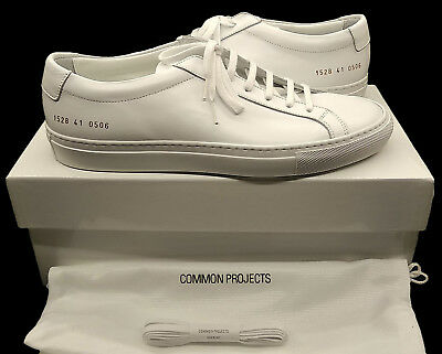 Common Projects Achilles Low White (1528 0506) - Brand New In Box  - All Sizes