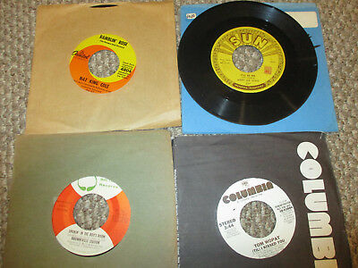 """400 RECORDS 45 Rpm 7"""" Lot Pop Rock R&B Country 50's-80's"""