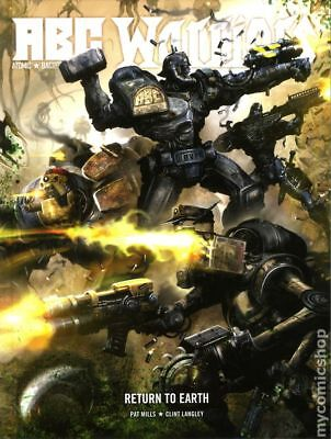 ABC Warriors Return to Earth HC (Rebellion) #1-1ST 2013 NM Stock Image