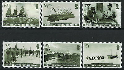 British Antarctic Territory Scott 471-476!Ships Fisher Men! MNH!