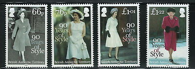 British Antarctic Territory Scott 507-510! Queen Elizabeth! MNH!
