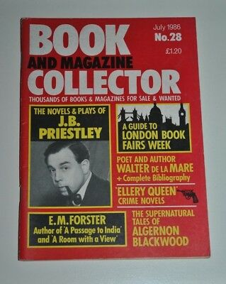 Book Collector July 1986 # 28 - J. B Priestley, E. M Forster, Ellery Queen