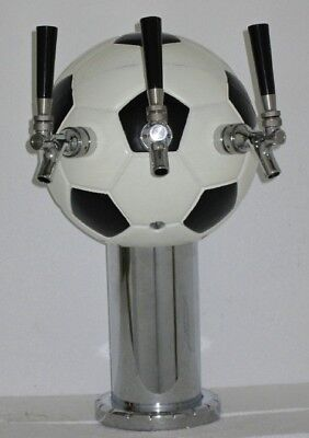 Soccer Ball Sports Themed Beverage Dispensing Tower - Air Cooled