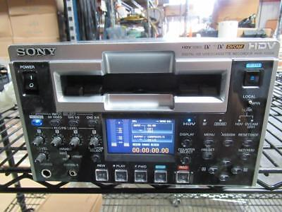 Sony HVR-1500A HDV 1080i HDSDI In & Out Tape Deck Recorder