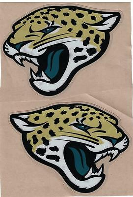 Jacksonville Jaguars FULL SIZE FOOTBALL HELMET DECALS W/BUMPERS