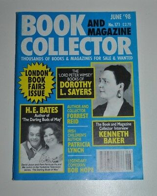 Book Collector # 171 June 1998 - H.E Bates, Dorothy L. Sayers, Forrest Reid