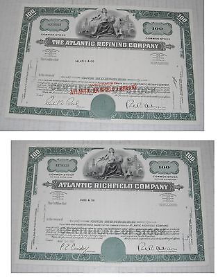 Stock Certificates---14 items...1928--1988......G