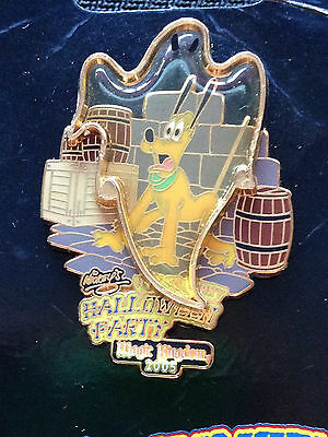WDW Mickey's Not So Scary Halloween Party MNSSHP 2005 Pluto with Ghost Pin