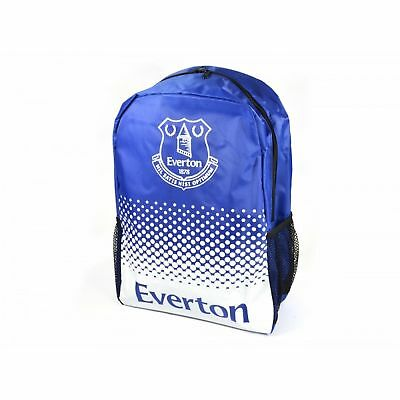 Everton FC Official Football Fade Design Rucksack (BS491)