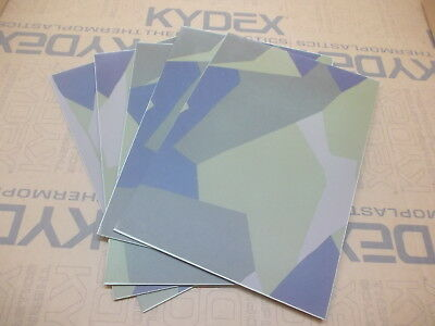 2 mm KYDEX 5 Pack 297 X 210 (nominal) Swedish M90 Camo (on Julep) Holster-Sheath