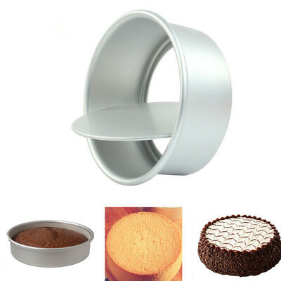 4/5/6/8/9'' Aluminum Alloy Non-stick Round Cake Baking Mould Pan Bakeware Tool