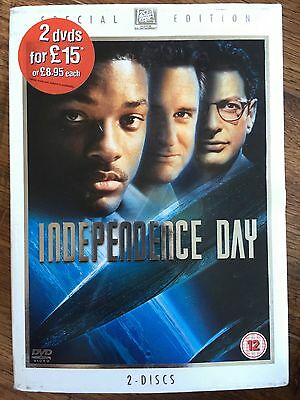 Will Smith INDEPENDENCE DAY Sci-Fi Classic ~ Special Edition DVD w/ Slipcover