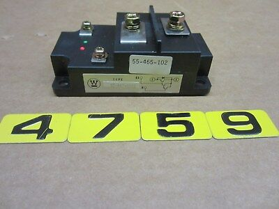 Westinghouse 55-447-0102 Rectifier Diode Module  554470102