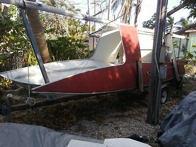 1975 MFG Shark 20' Catamaran Sailboat & Trailer - Florida