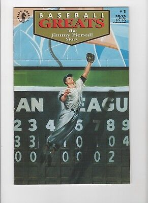 Baseball Greats 1 The Jimmy Piersall Story  NM