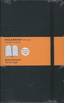 Moleskine Classic Ruled Soft Cover classic Notebook Large 5 x 8.25-Inches