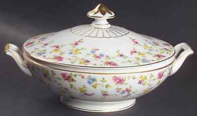 Heinrich H & C COQUETTE WHITE Round Covered Vegetable Bowl 971793