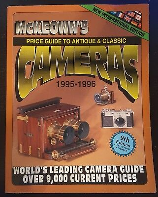 Price Guide to Antique and Classic Cameras 1995-96 McKeown 1994 Paperback USED