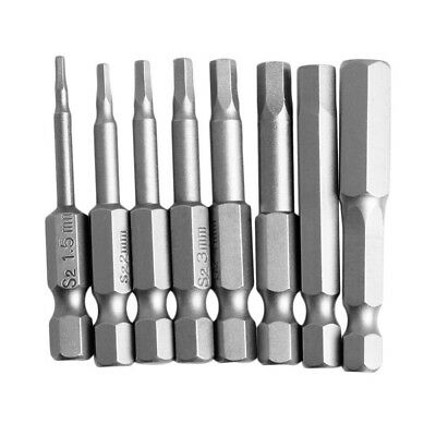 Hex Allen Wrench Bit Set Quick Release connect Long 1/4 impact driver drill bits