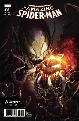 Amazing Spider-Man #32 Venomized Green Goblin Variant Marvel Comics Mattina