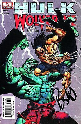 Hulk / Wolverine #4 Six Hours Signed By Artist Simon Bisley