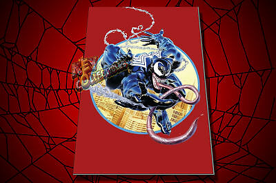 Marvel VENOM #1 Mike Mayhew KRS Comics Cover C VIRGIN VARIANT