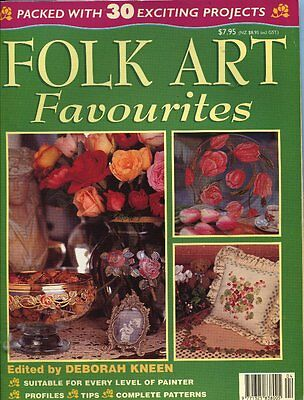 MAGAZINE - FOLK ART FAVOURITES edited by DEBORAH KNEEN