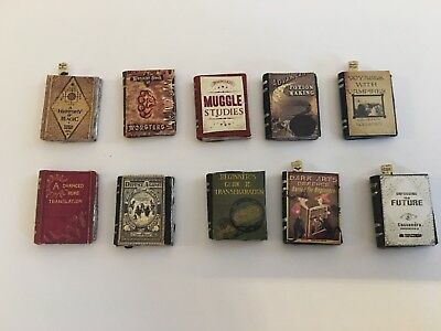X10 Harry Potter Style School Books For A 1/12 Scale Dolls House
