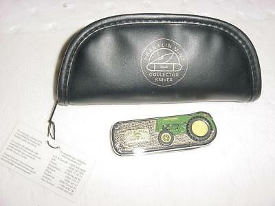 MINT John Deere AO Streamline Folding Pocket Knife FM New