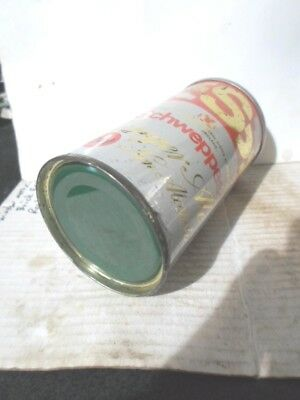 "Schwepps -""""for Ships ,rail, And Air""""- 5.5 Ounce Steel Can -[Read Description]-"