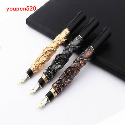 Luxury brand Jinhao Eastern Dragon Dragon Business office Fountain Pen New
