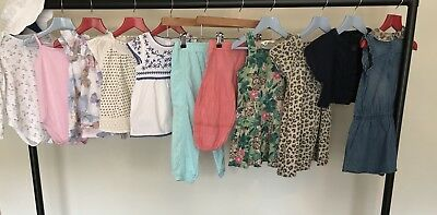 NEXT Girls Clothes Bundle Dresses Harem Trousers Tops Bolero Sunhat Age 2-3