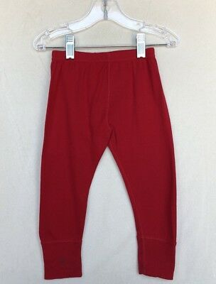 Hanna Andersson Red Wiggle Pants Size 85 (2T)