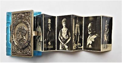 1935 King George Silver Jubilee Miniature Photo Book Vintage Old Royal Antique