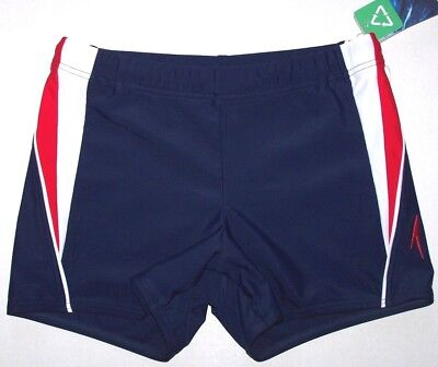 1079e849a7 Nwt New Speedo Fitness Splice Square Leg Swim Trunks Shorts Swimsuit USA Men
