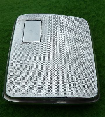 SMALL VINTAGE STERLING SILVER CIGARETTE CASE - BIRMINGHAM 1933 - 2.79 troy oz