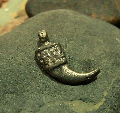 Viking Silver Amulet Pendant Claw.